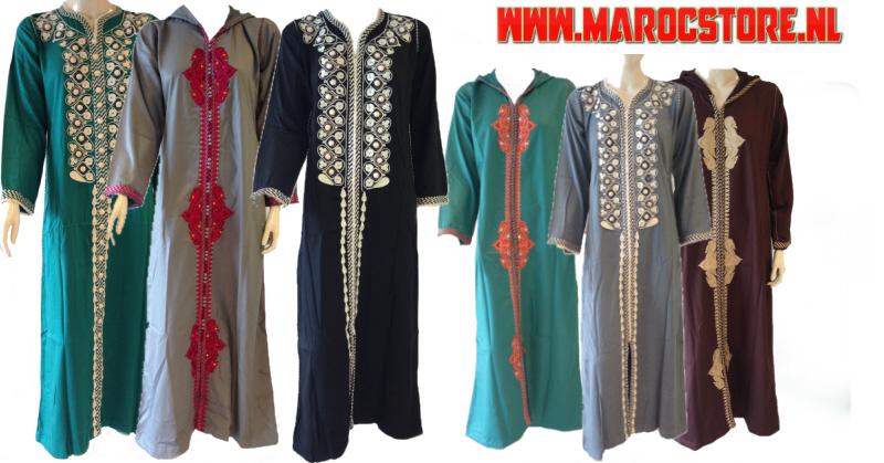 Marokkaanse jurk grote maat
